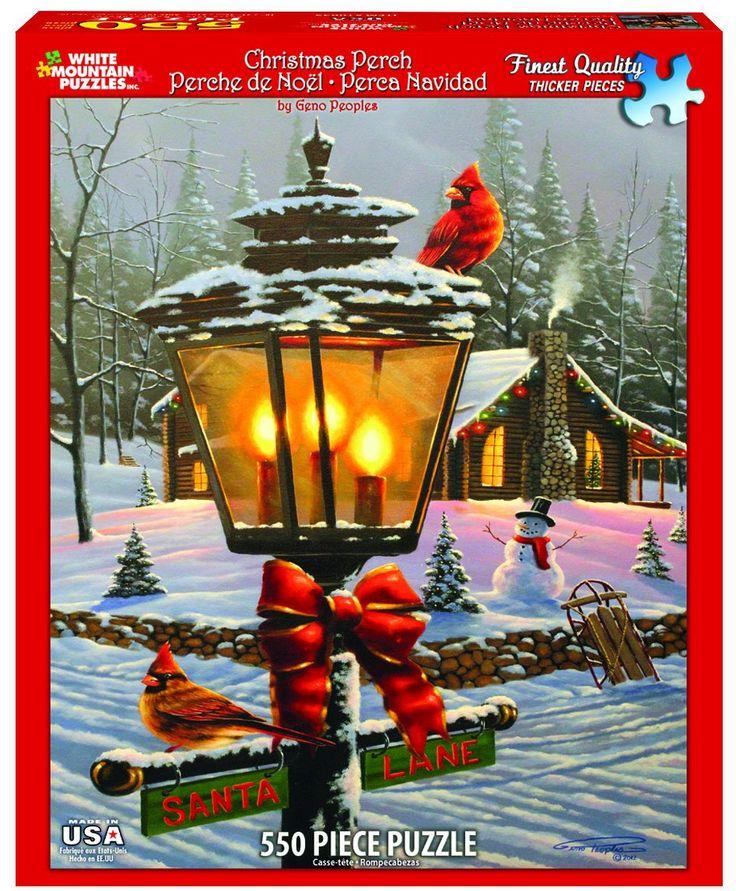 CHRISTMAS PERCH - 550 Piece Jigsaw Puzzle