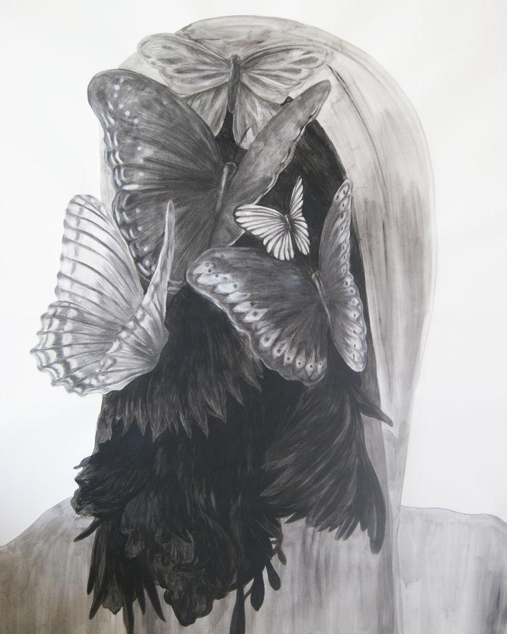 Rosenrot - 150x120 cm 2014