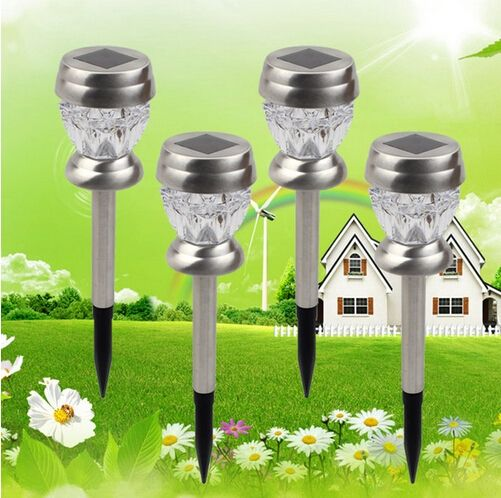 (28.69$)  Watch more here  - 4pcs LED Solar Lamp LED Garden Light Outdoor Lighting Lampada Decoration Luces Solares Energia Solar Lampe Solaire