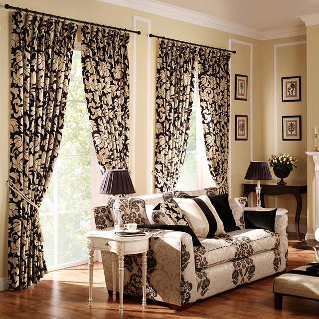 Living Room Curtain Designs Interesting 20 Best 20 Modern Living Room Curtains Design Images On Pinterest Review