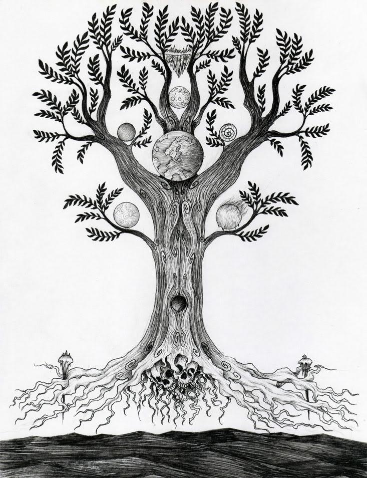 рисунок дерева интерпретация фото требовали