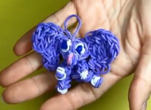 elephant charm 8 Adorable Rainbow Loom Animals Your Kids Will Adore