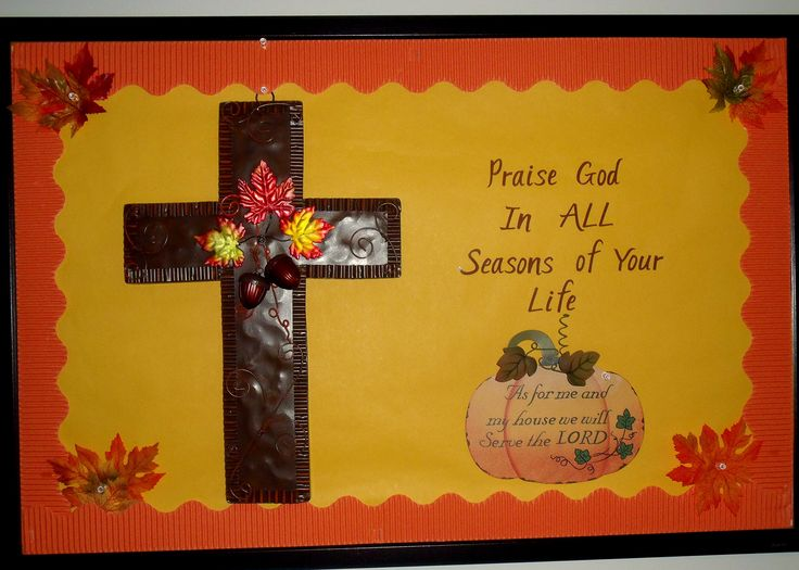 Autumn Bulletin Boards For Church Autumn Time To Be