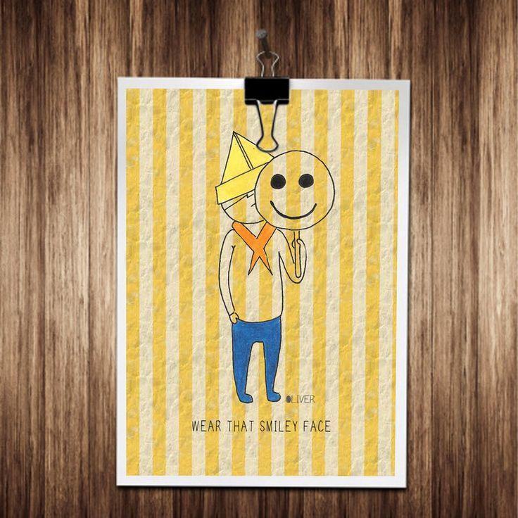 Printable Oliver Smile  by Build-A-Oliver