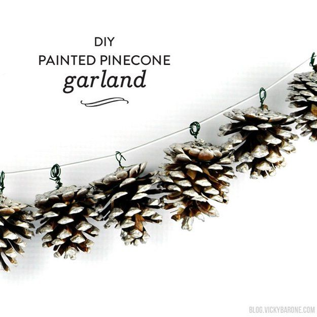 Christmas Garland Ideas12 Natural Christmas Garland Ideas To Adorn Your Homestead | Cool, Unique And Inexpensive DIY Home Decor by Pioneer Settler at http://pioneersettler.com/diy-natural-christmas-garland-ideas/