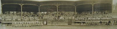 Naval Station Norfolk's McClure Field one of the oldest brick baseball stadiums in the USA built between 1917 1919