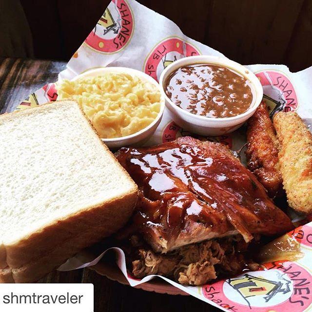 There's nothing quite like the Original Shane's Rib Shack! #visithenrycoga #yummy #food #BBQ #repost @shmtraveler