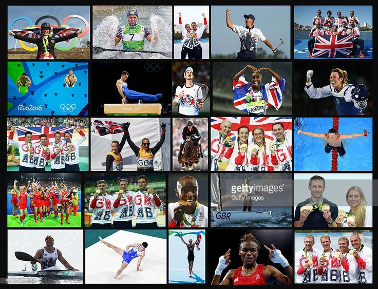 This composite image shows the athletes that won 27 Gold Medals for Team GB at…