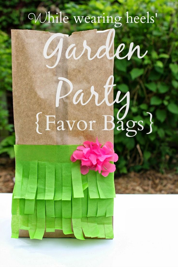 According to Grace, there are 2 vital parts to any birthday party.    The first is the cake.  The second is the party favor bag.  We take ou...