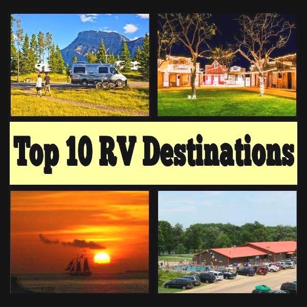 Top 10 RV Destinations