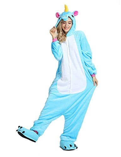 e50e4371d516 Party Chili Unisex Unicorn Onesie Pajamas Animal Costume Sleepwear With  Monster Slipper Paws Shoes  shorts  swimwear  sleepwear  mens  clothing