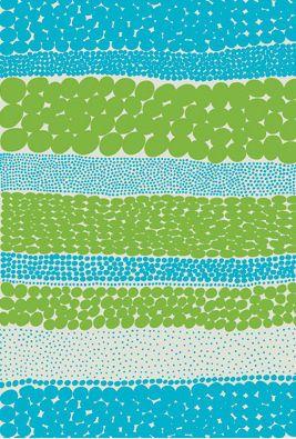 Upholstery fabric / patterned / cotton - JURMO HW by Aino-Maija Metsola - Marimekko Corporation