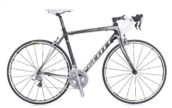 2011 scott cr1 pro - very light yet sturdy enough to take me up and over fire roads
