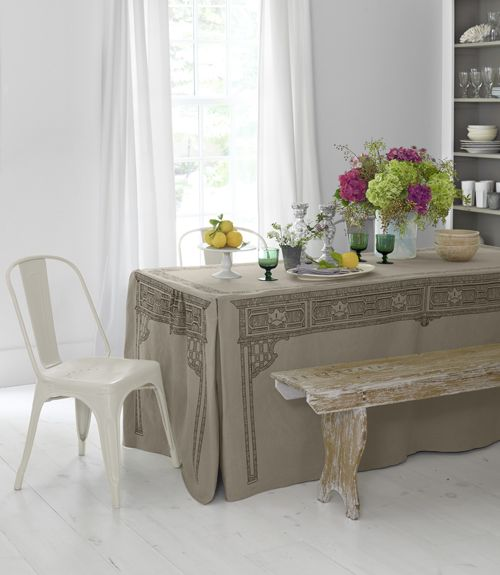 Redo Your Dining Room For $68! This Witty, Stain Resistant Slipcover Turns A Part 64