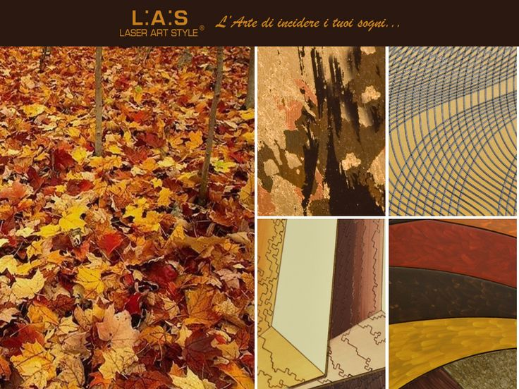 #CuriosityLAS We look around and is the nature to suggest the colors! http://www.laserartstyle.it/home/gallery/paesaggi/ #destinazionemarche #autumn #leaves