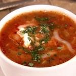 Aprender a cocinar Recetas de Cocina Rapida - Sopa de Tortilla. Es fácil y no toma ninguna habilidad.