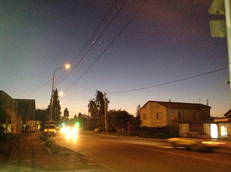Вечер в Ставрополе !
