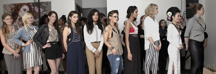 2013 aveda born to style model line up.