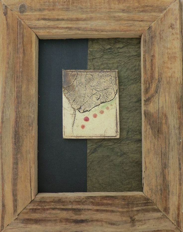 Framed tile by Bella Odendaal
