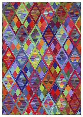 Additional Images of Kaffe Fassett's Quilts in Morocco by Kaffe Fassett - ConnectingThreads.com