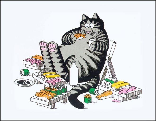 Bernard Kliban Cat Dreams