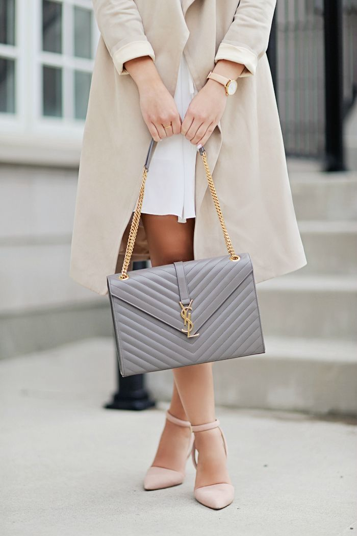Saint Laurent Bag | The Finer Details http://www.larizia.com/saint-laurent-m71