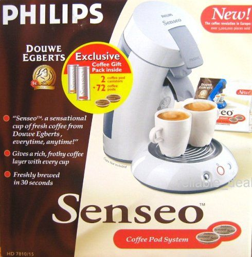 Philips Senseo Coffee Pod maker System with 72 coffe pods and 2 coffee pod canisters HD 7810 White Color Review https://bestcoffeemachineusa.info/philips-senseo-coffee-pod-maker-system-with-72-coffe-pods-and-2-coffee-pod-canisters-hd-7810-white-color-review/