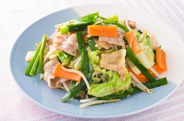 ボリューム野菜炒め