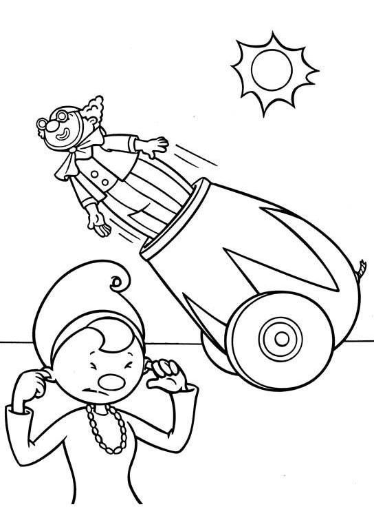 circus cages coloring pages - photo#16