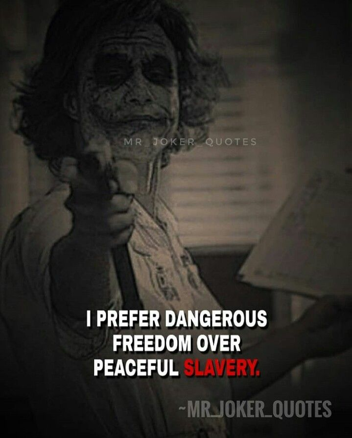 dom or slavery joker quotes best joker quotes warrior quotes