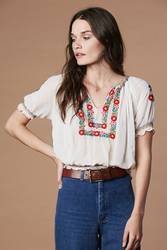 Penny Lane Peasant Top