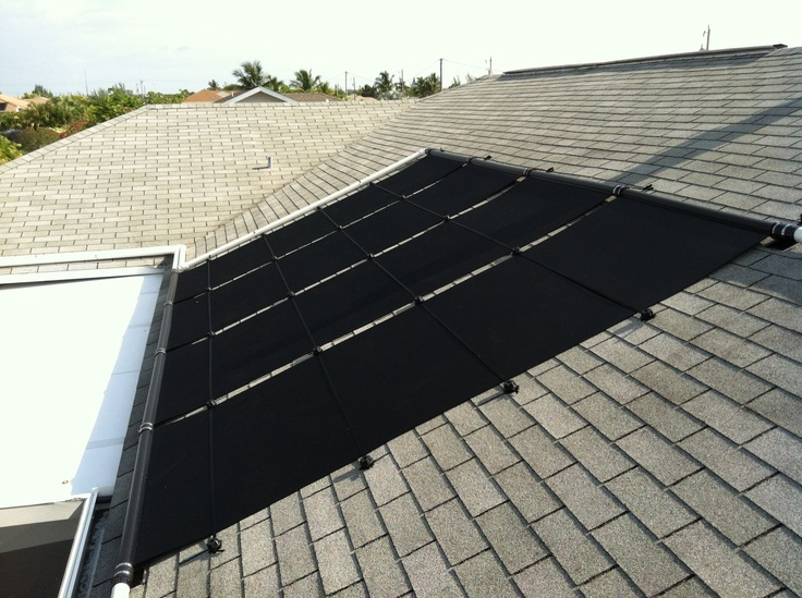 26 Best Roof Images On Pinterest Ground Pools Roof Repair And Solar Pool Heater
