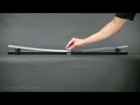 Force and Motion - very good video with easy to reproduce experiment - kids would love it