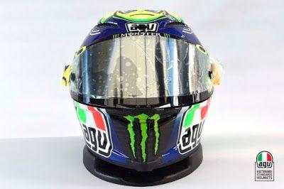 MotoGP 2015  sudah berakhir tapi produsen helm AGV selalu membuatnya menarik dan cerita tersendiri ...