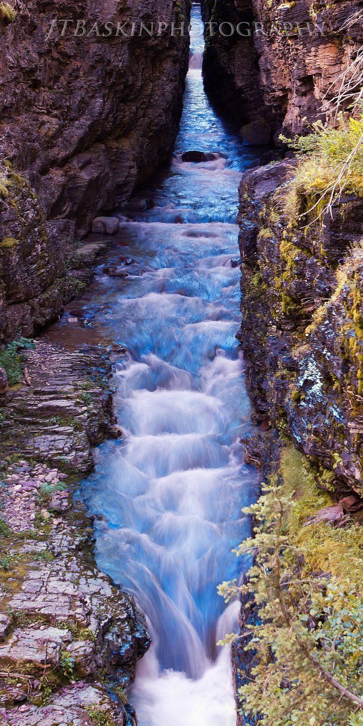 Sunrift Gorge - Glacier National Park