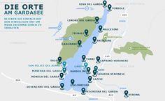 Gardasee Karte