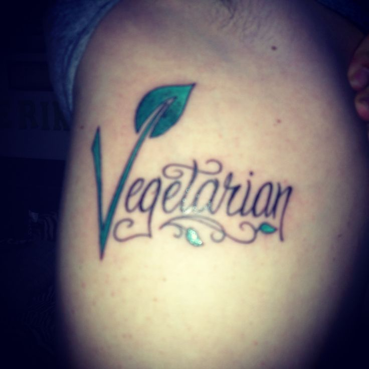 Vegetarian Tattoo