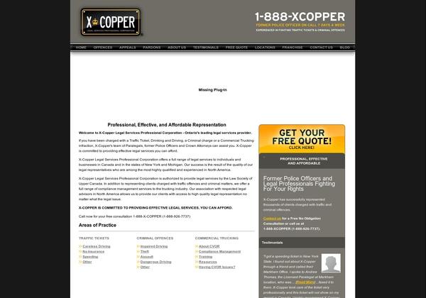 X-Copper Legal Services Professional Corporation,  939 Eglinton Avenue East  Toronto, ON M4G 4E8 Canada,  (416) 696-6677, (888) 926-7737