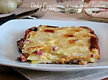 Millefoglie di patate e besciamella | ricetta