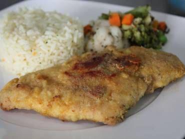 Receita de Filé de frango à milanesa sem fritura - Tudo Gostoso