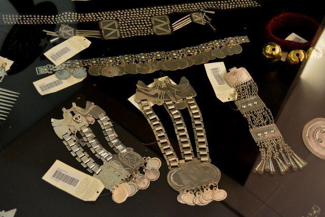 Reproducción de platería mapuche artesanias-de-chile-plata