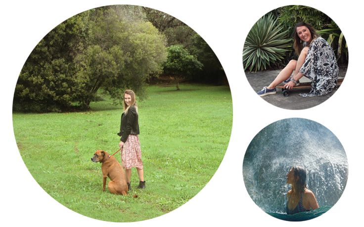Katie Roberts, who lives on Australia's gorgeous Sunshine Coast, isn't your typical blogger - she's an ethical fashion-obsessed environmental scientist… who happens to love to write!