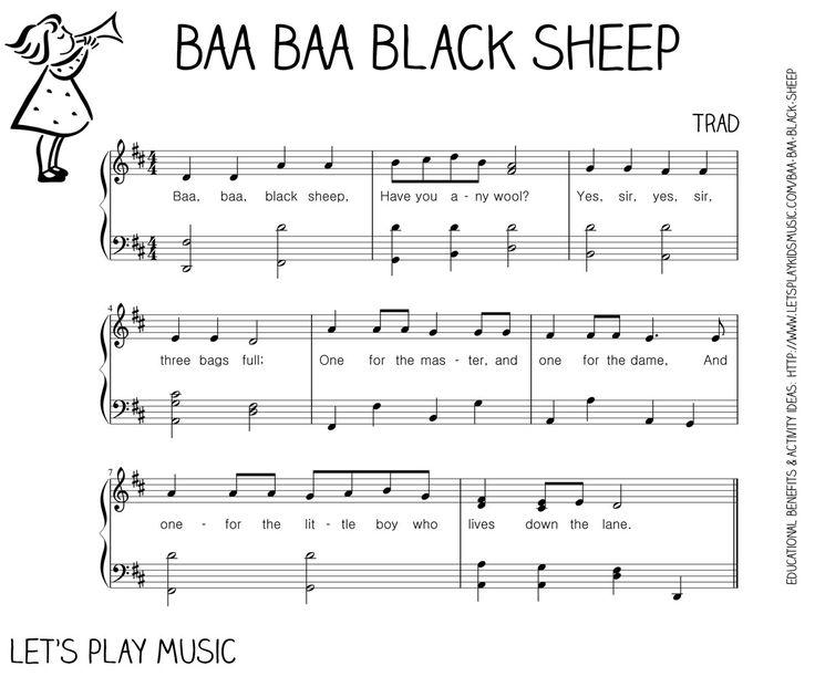 Baa Black Sheep First Nursery Rhymes