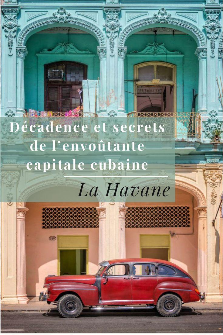 La Havane, ville mythique, décadente, intemporelle, secrète mais aussi sulfureuse en raison de son histoire particulièrement mouvementée. Plus que toute autre ville au monde, la capitale cubaine ne se décrit pas mais se vit. Mettre le pied à La Havane c'est se sentir télétransporter dans une autre dimension. Immersion dans la « ville aux 1 000 colonnes » qui regorge de beautés architecturales et où un spectacle permanent se joue dans la rue. Une ville au charme inaltérable, embarquement…