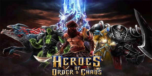 Download Game Apk Heroes of Order Chaos Mod Android can be a Action Category Download Game Android last version of  Heroes of Order Chaos Mod from Gretongan