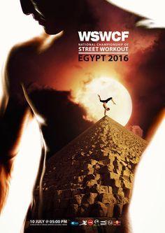 埃及2016 WSWCF健美操系列宣传海报欣赏