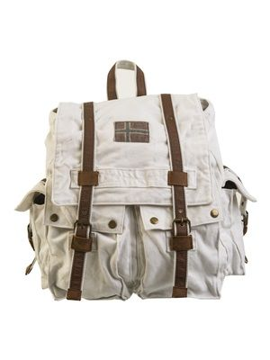 Barfota spring/summer 2014 Backpack canvas cream www.barfota.no
