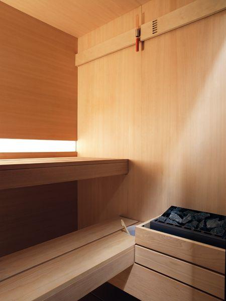 sauna e bagno turco insieme con logica twin