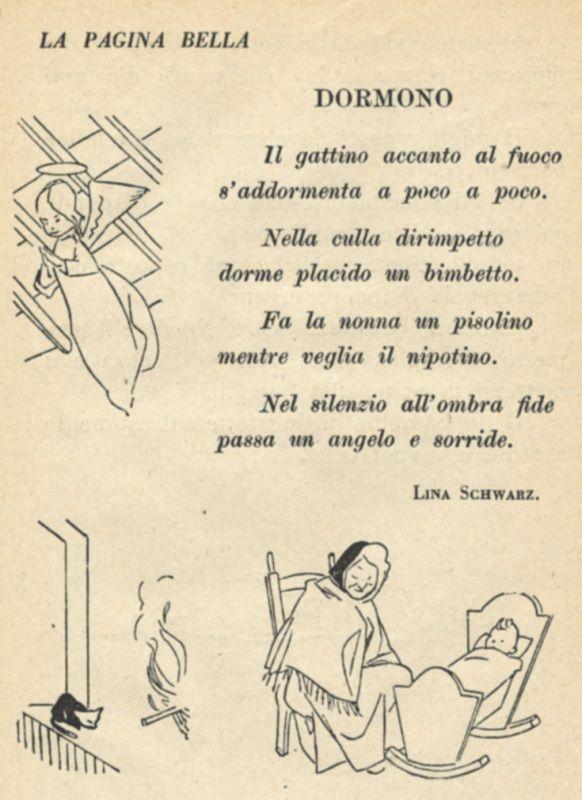Da un vecchio libro di scuola del 1950