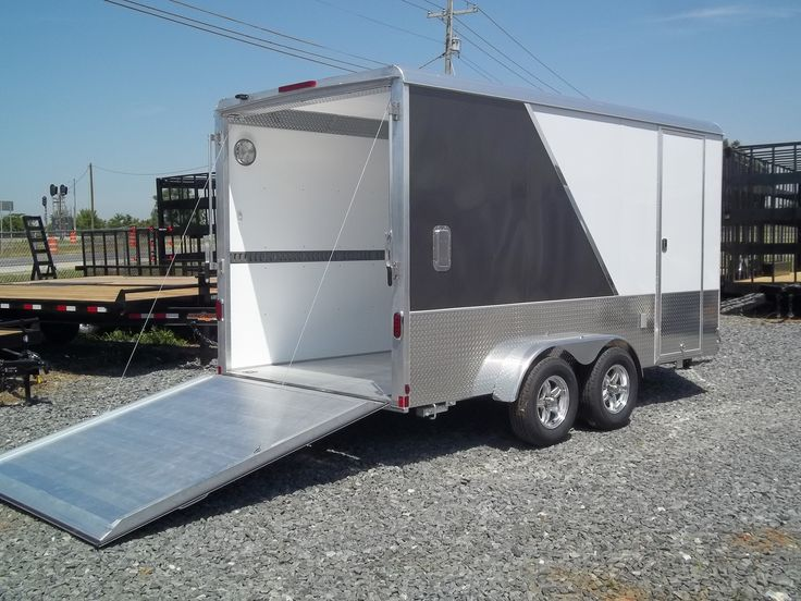 Cars For Sale Macon Ga >> 55 best enclosed motorcycle trailer images on Pinterest | Toy hauler trailers, Aluminum trailer ...